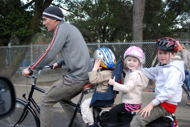 Xtracycle with Xtrakids