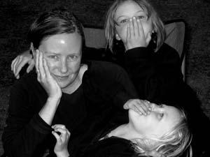 Carol, Faye and Eve