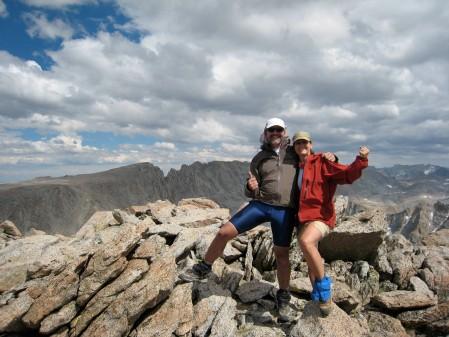 Schmed & Kirsten celebrate another summit