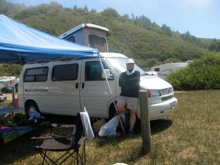 EuroVan Camper at Westport