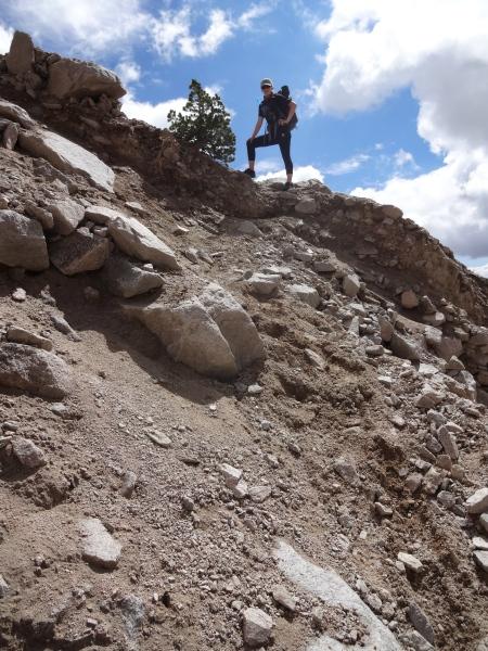 "Shepherd Pass Trail ""washout"""