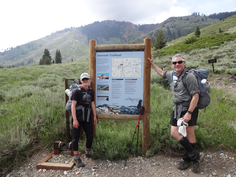 Sawtooth Pass trailhead