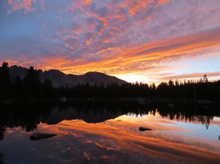 Sunrise at 5 lakes